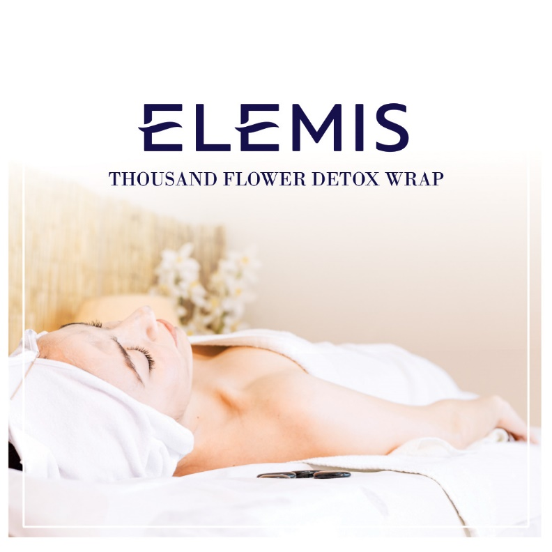 THOUSAND FLOWER DETOX WRAP